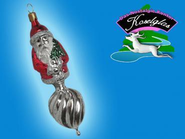 Koselglas Christbaumschmuck Weihnachtsmann Auf Ornament Nostalgie