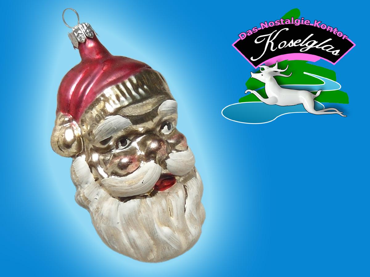 Koselglas Christbaumschmuck Weihnachtsmann Nikolaus Nostalgie